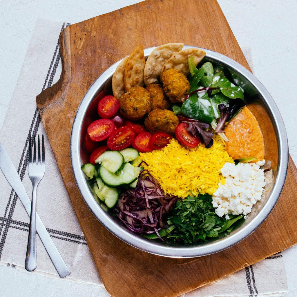 mezzi bowl menu